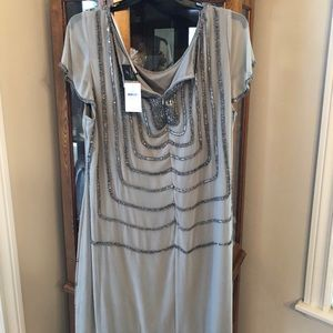 Adrianna Papell Dresses - Silver Nordstrom 22W Formal Dress